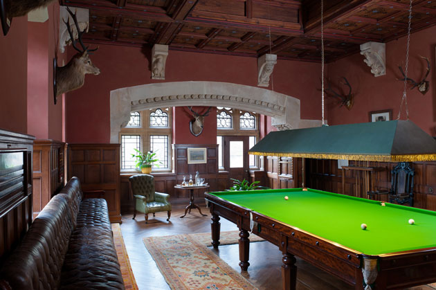 The National Trust, Knightshayes The Billiard Room/ akg Images / Andreas von Einsiedel
